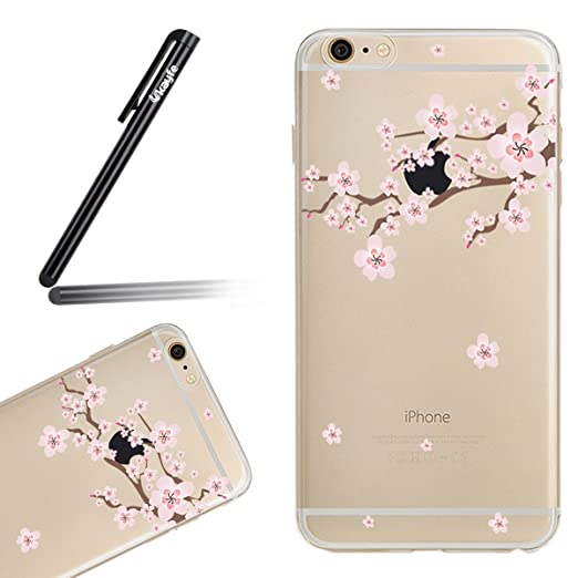 27 opinioni per Ukayfe Cover iPhone 5/5S/SE Custodia TPU Silicone Cassa Gomma Soft Silicone Case