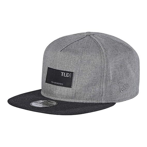fc9dbb6b3c4 Troy Lee Designs Grey Tempo Snapback Cap  Troy Lee Designs  Amazon.co.uk   Clothing