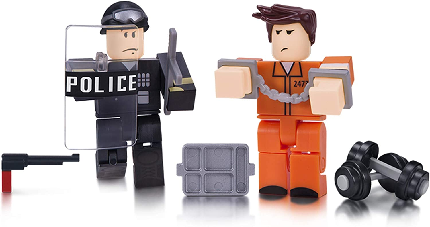 Amazon Com Roblox Action Collection Prison Life Game Pack