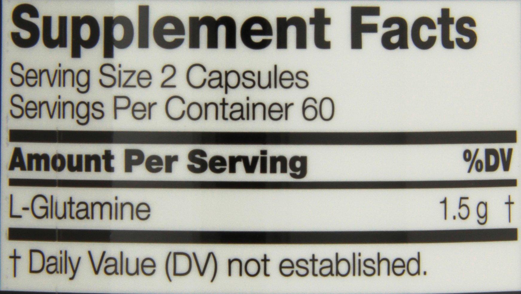 Twinlab Glutamine Fuel, 120 Capsules (Pack of 2) by Twinlab (Image #2)