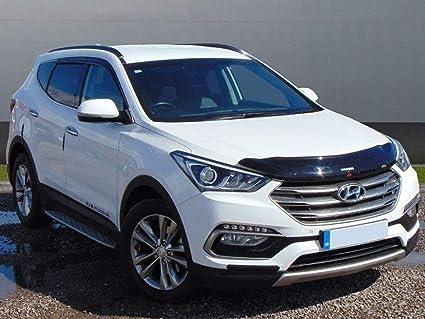 4 Piezas Juego de deflectores de Viento Autoclover Hyundai Santa Fe 2007-2012