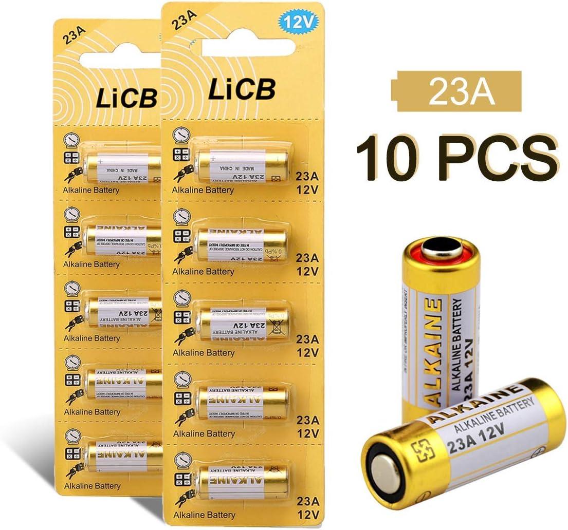 Sicherheitstechnik GP Extra Alkaline Batterien 23A Fernbedienung 12V 5 St/ück 12 Volt A23 // MN21 // V23GA f/ür Handsender Transmitter
