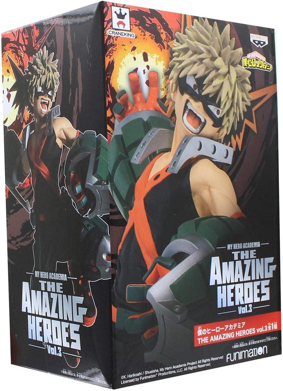 My Hero Academia Figurine Bakugo The Amazing Heroes Vol.3 par Banpresto