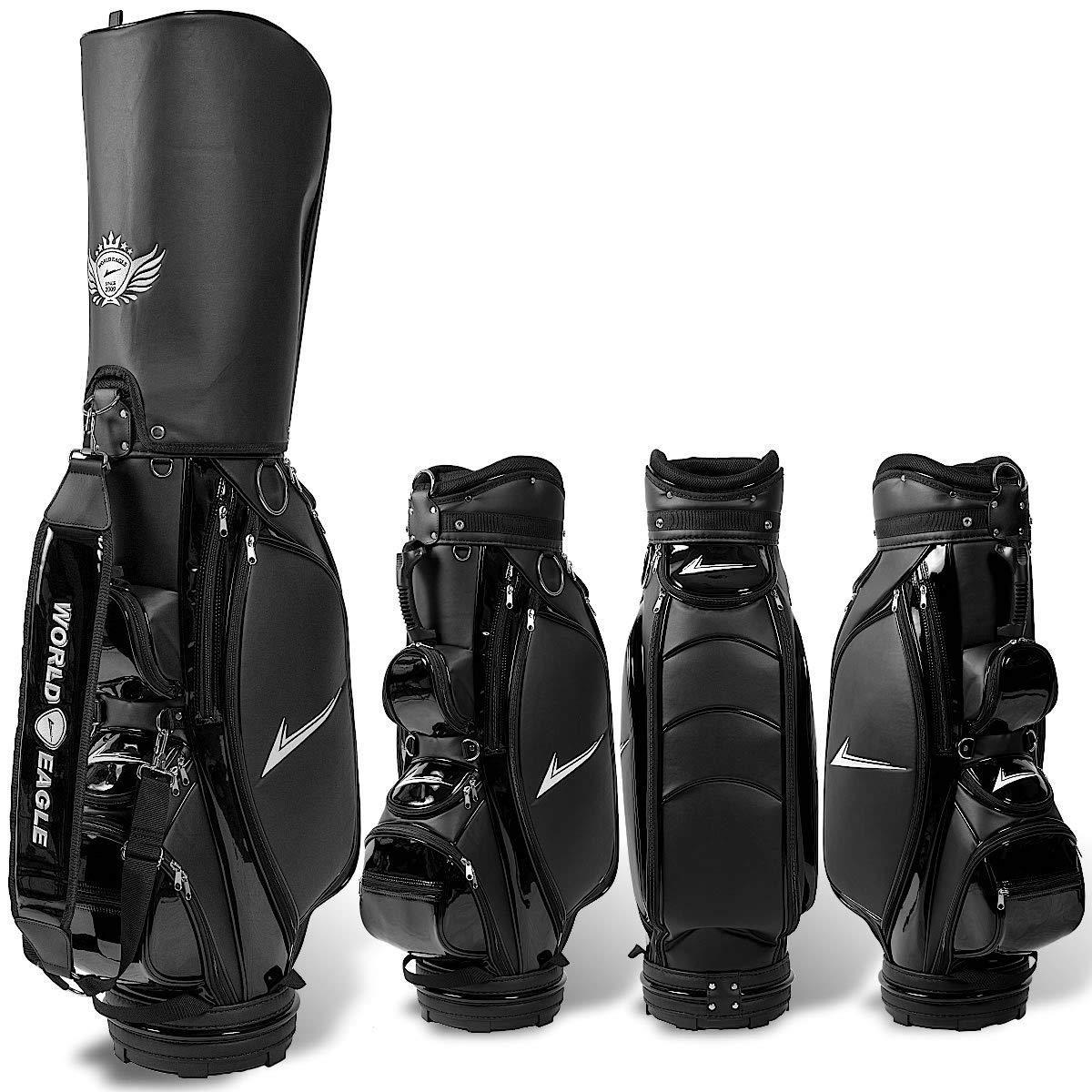 WORLD EAGLE(ワールドイーグル) CBX001 メンズ B002R025WC ゴルフ カート ゴルフ バッグ メンズ ブラック WE-CBX001 B002R025WC, エアコン専門店 エアコンのマツ:5a629dbf --- kapapa.site