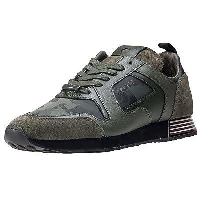 Cruyff Lusso Duoshade Camo Bark Herren Sneakers