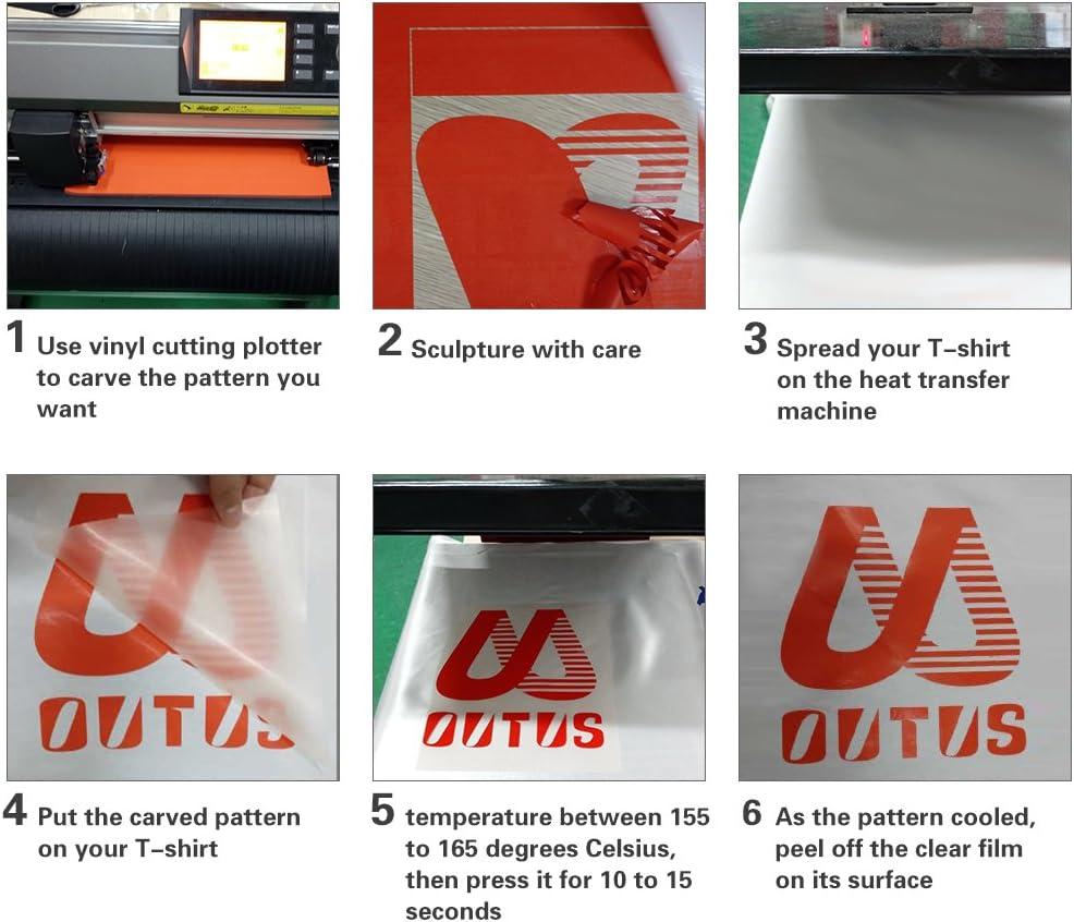 Hojas de Vinilo de Transferencia Térmica de PU (12 Colores, 12 x 10 Pulgadas) con 2 Hojas de Papel Transfer de Inyección de Tinta de Cuadrícula A4 (Claro y Oscuro): Amazon.es: Hogar