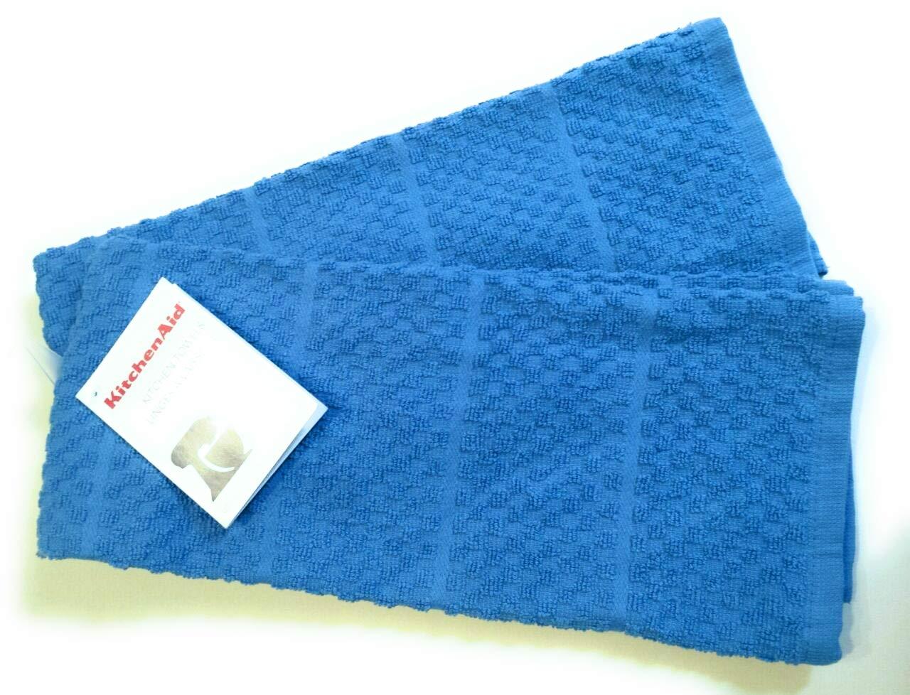 KitchenAid 2 Cornflower Blue Towels