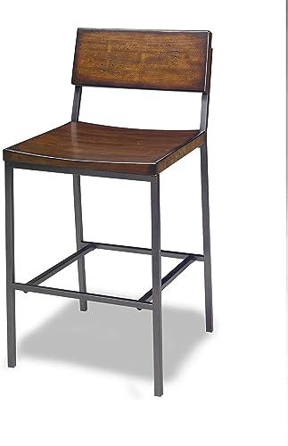 Progressive Furniture Sawyer Stool, Brown