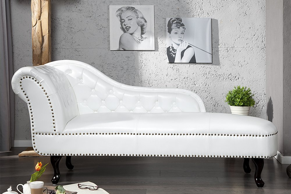 Invicta Interior Chesterfield Recamiere (Chaiselongue)