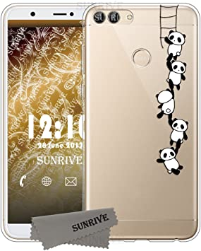 Sunrive Funda para Huawei P Smart, Silicona Funda Slim Fit Gel ...