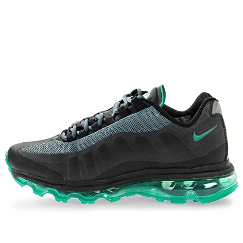 f8adbb54fd Nike Air Max 95 360 GS Boys Running Shoes 512169-009 Black/Stadium Green- Bright Crimson-Hst 4.5 M US Big Kid: Buy Online at Low Prices in India -  Amazon.in