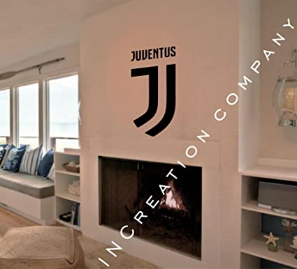 6b3c7c9713da Amazon.com: Soccer Juventus Emblem Wall Decal Vinyl Sticker mural ...
