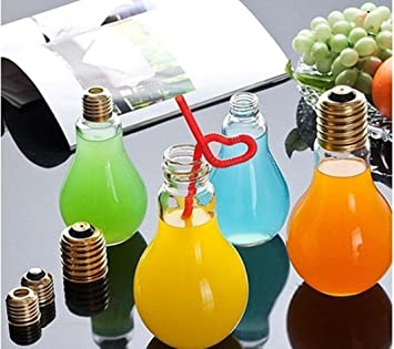 Amazon.com: foco Botella de agua, iusun de plástico Prueba ...