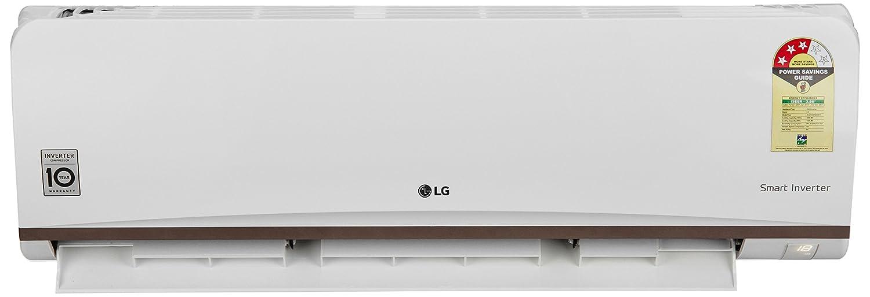 LG 1 Ton 3 Star Inverter Split AC (JS-Q12CPXD, White)