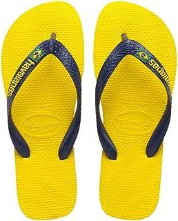 Havaianas Unisex-Erwachsene Top Zehentrenner, Gelb (Citrus Yellow 2197), 47/48 EU