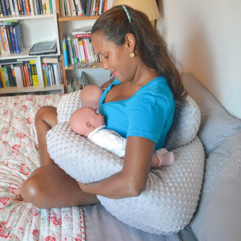 Espalda Soporte twinki el coj/ín de lactancia y almacenar Coj/ín para G/éminis Funda Baby Coj/ín Coj/ín de lactancia azul azul