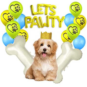 Dog Birthday Party Decorations Supplies