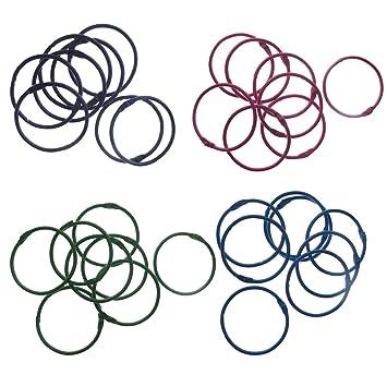 2 Inch Desmonte 4 varios colores libro de piezas anillos anillas ...