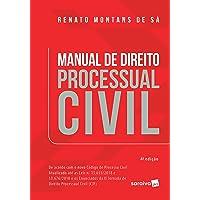 Manual de direito processual civil - 4ª edição de 2019