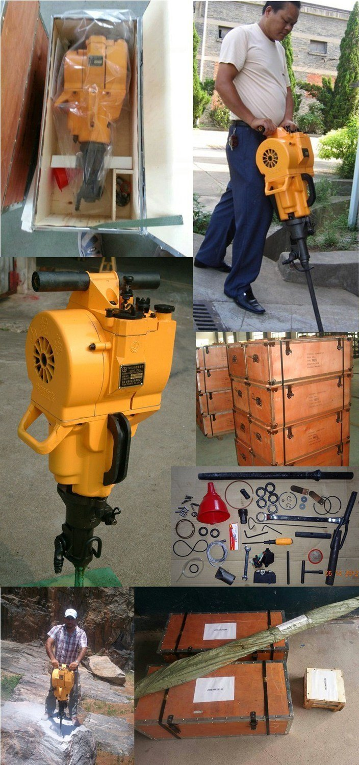 Good Quality Pionjar Rock Breaker Hammer/Gasoline Rock Drill YN27 by NY