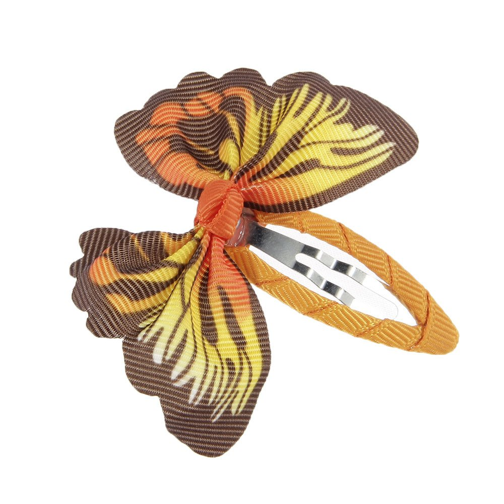 lovinglove Chiffon Flower Hair Bow Clips For Teens Toddlers Kids Children (10 Butterflies) by lovinglove (Image #7)