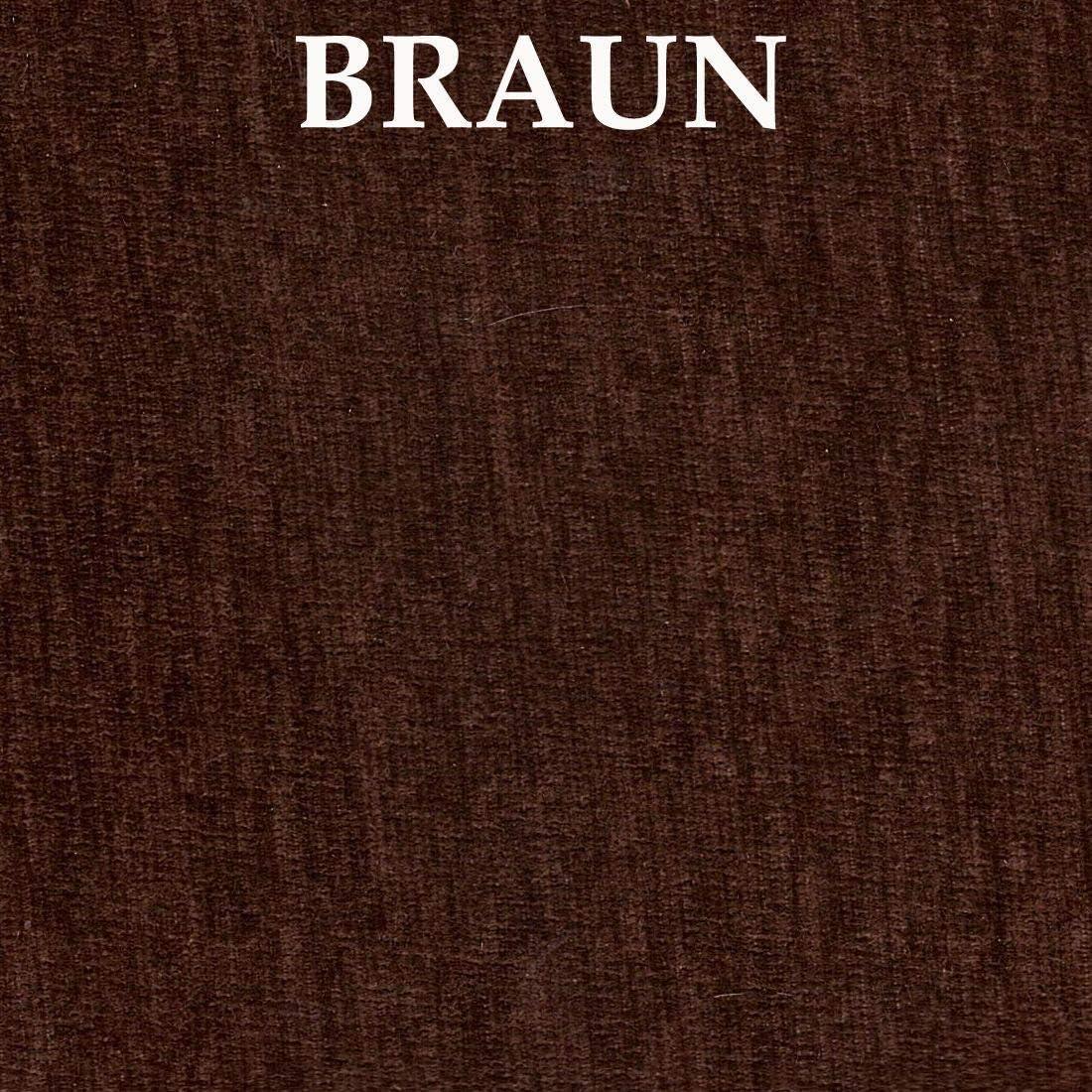 con imbottitura marrone koma Panchina ad angolo in legno di pino bianco