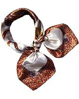 Bluelans® Women Silk Feel Neck Square Scarves Headwrap Bandana Neckerchief Headscarf Stewardess Scarf