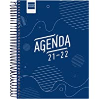 Finocam Agenda 2021 2022 1 Día página Septiembre 2021, Junio 2022 10 meses y Julio/Agosto resumidos 4º, 155x212 Cool…