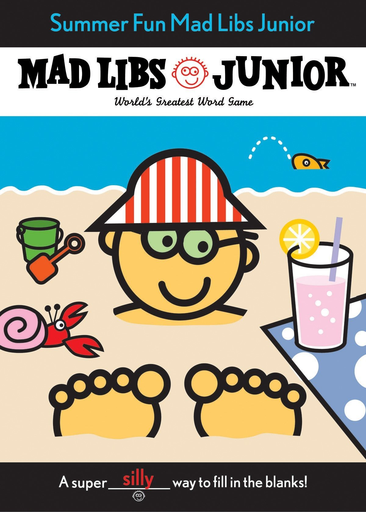 graphic about Summer Mad Libs Printable named Summer months Enjoyment Nuts Libs Junior: Roger Charge: 9780843107593