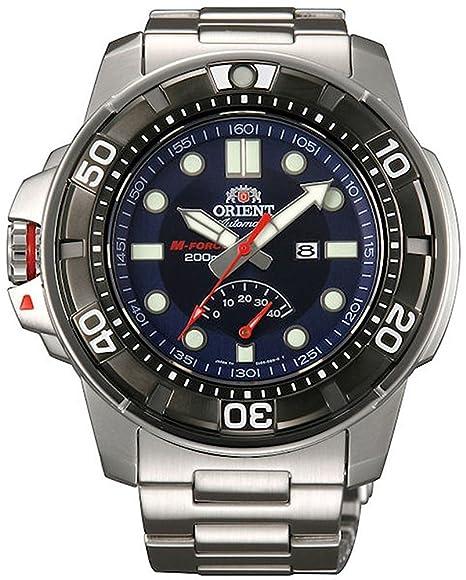 438652bb9895 Orient SEL06001D0 M-Force Power Reserve - Reloj automático de pulsera para  hombre (con