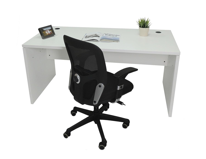 Mesa de Oficina. Euro 2000. Color Blanco. 120x80 cm: Amazon.es: Hogar