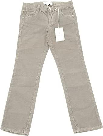 8537G pantaloni bimbo grigi GUCCI cotone velluto pantalone trousers kids