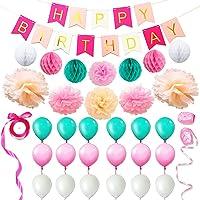 Eightnight Juegos de Papel para DIY Feliz cumpleaños
