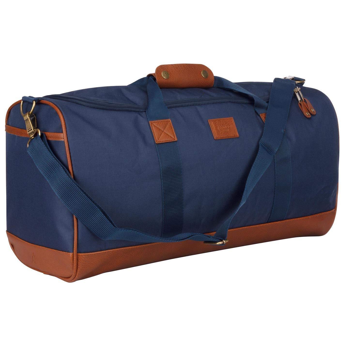 d24cddef Amazon.com | Kangol Bags Holdalls Backpacks Messenger Flight Bags Daypacks  H:29 x W:57 x D:27 (cm) Antique Holdall - Brown | Messenger Bags