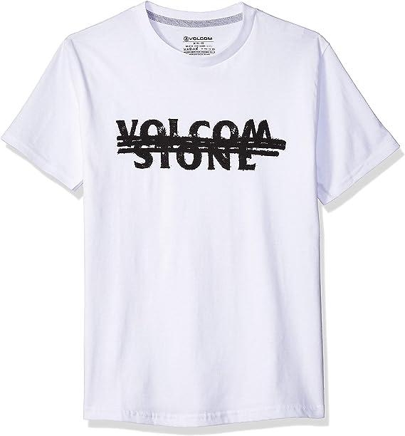 Volcom Boys Big Stone Void Basic Fit Short Sleeve Tee