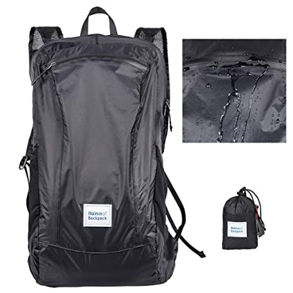 Camping & Hiking Waterproof Travel Backpack Large Capacity Breathable Nylon Outdoor Mountaineering Bag Diamond Shaped Folding Backpack Various Styles