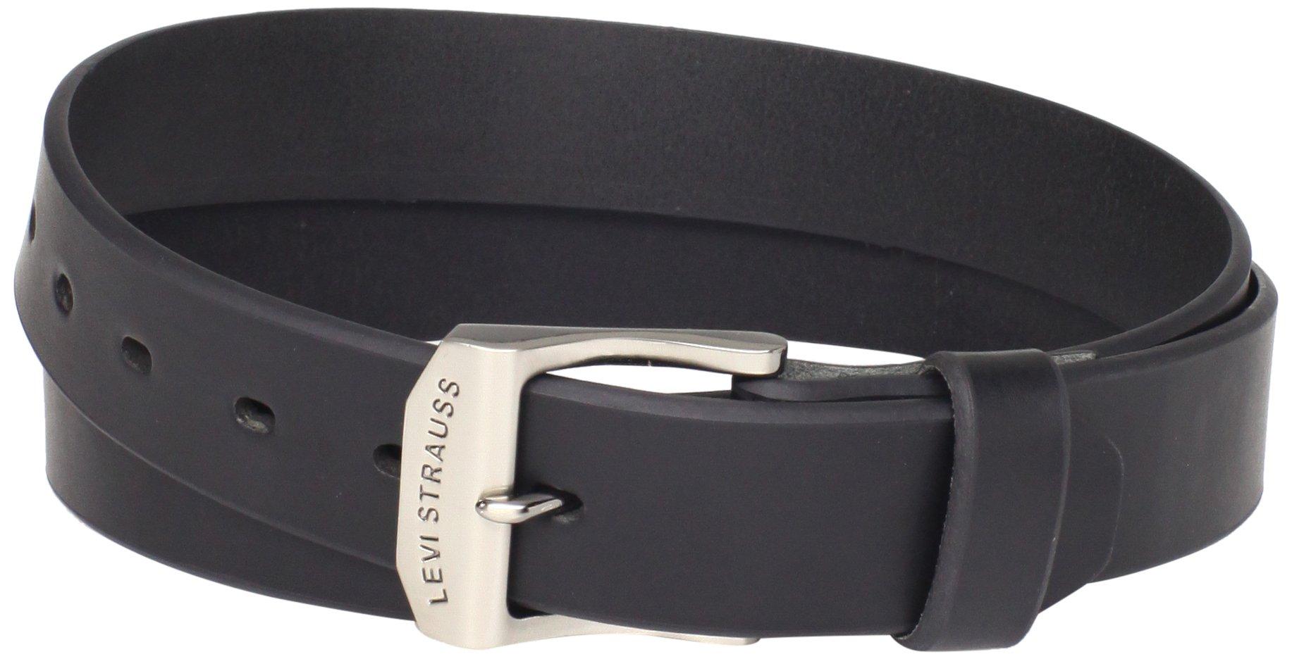 Levi's Men's 38mm Bridle Belt (Regular and Big & Tall Sizes),Black,46