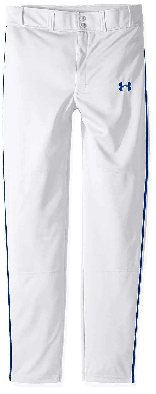 Under Armour クリーンアップパイプド野球パンツ ボーイズ B01M0PJBS1 Youth X-Large|ホワイト/ロイヤル ホワイト/ロイヤル Youth X-Large
