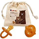 SWEETIE Rubber Orthodontic Pacifier 1 Count (0-6 Small)