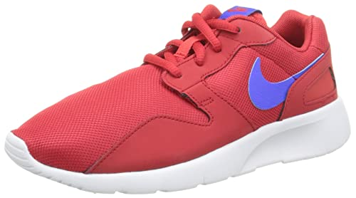 lowest price 20c40 57ad8 Nike Kaishi Gs, Unisex Kids  Sneakers Low-Top Sneakers, Red (604
