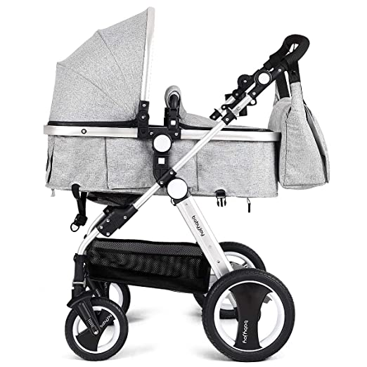 Amazon.com: Babyjoy - Cochecito plegable 2 en 1 para bebé ...