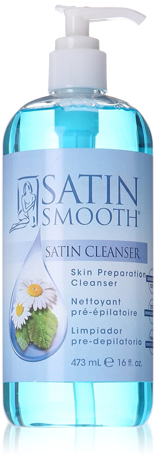 SATIN SMOOTH Skin Preparation Cleanser 16-Ounce 0074108264176