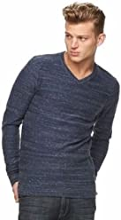 Mens Rock & Republic V-Neck Sweater