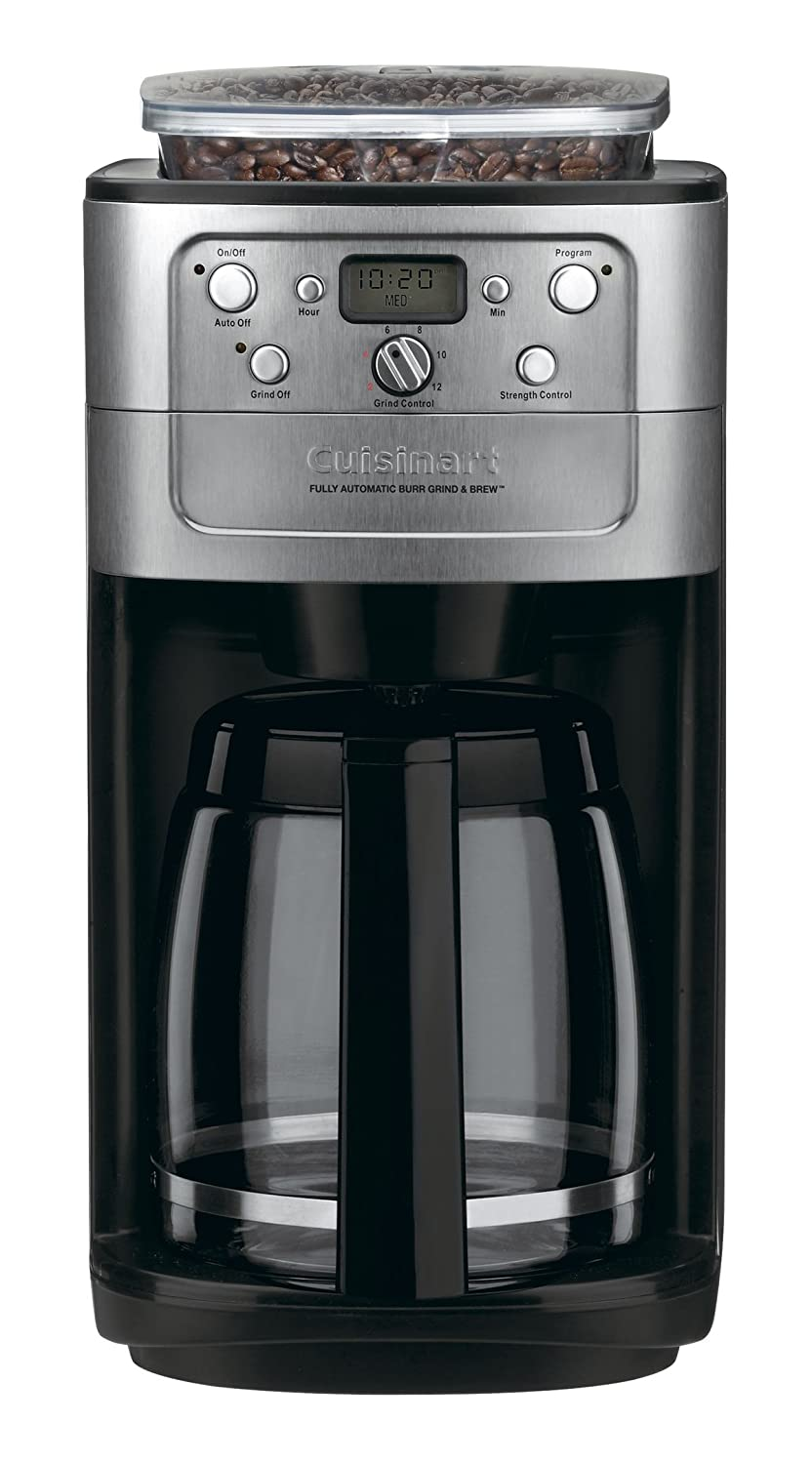 Cuisinart DGB-700BC Grind & Brew 12 Cup Coffeemaker Chrome