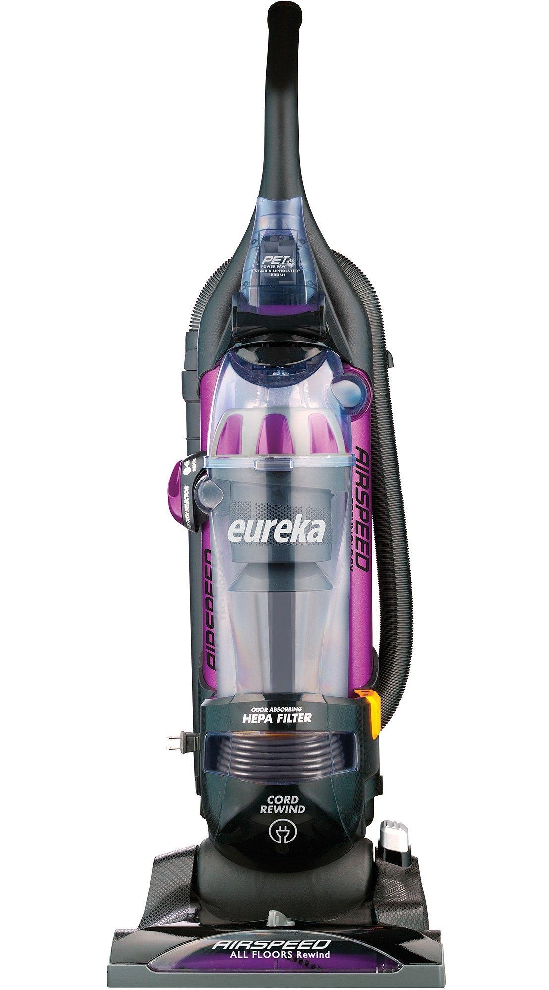 Eureka AS1061A Pro Pet Bagless Upright Vacuum, Purple