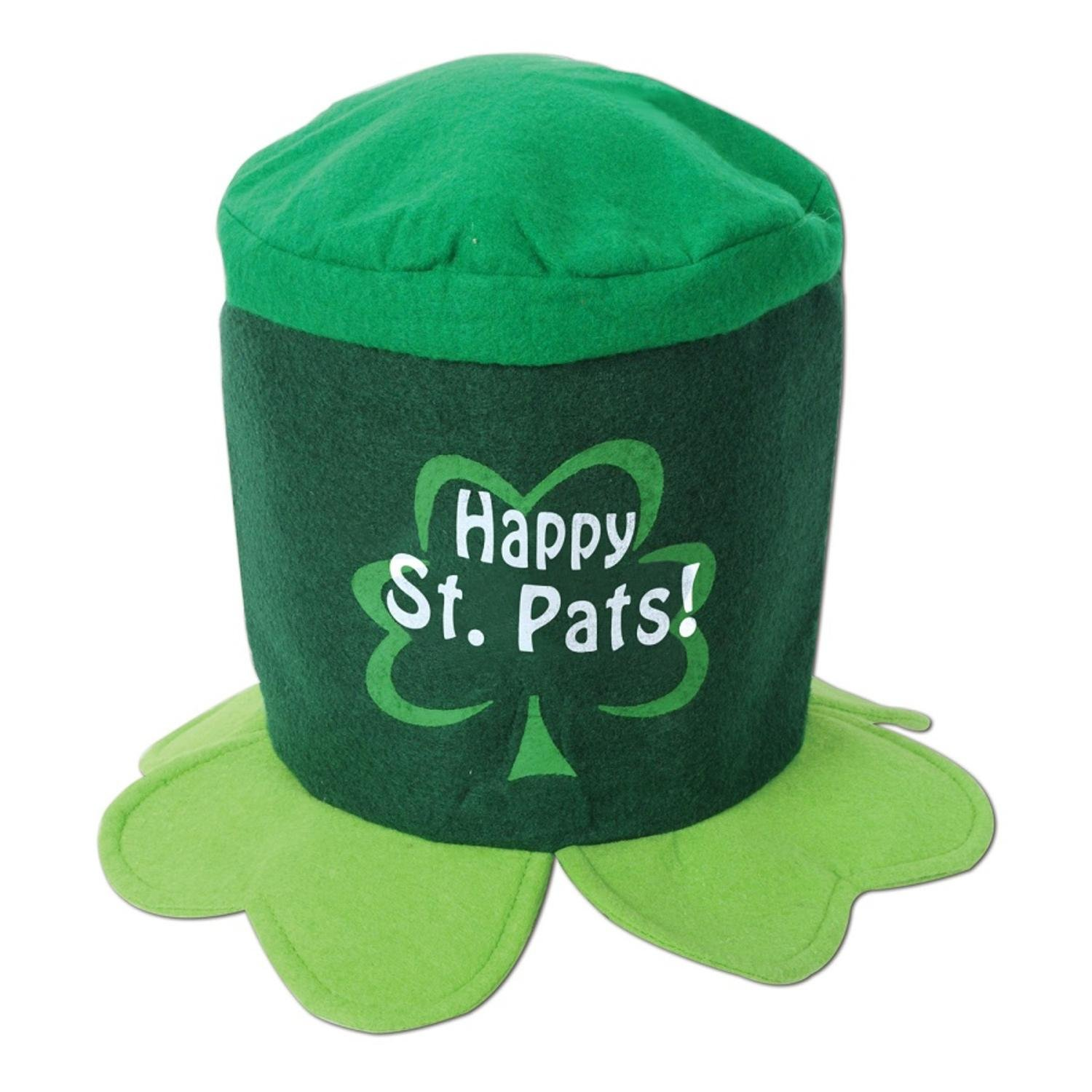 Club Pack of 12 Happy St. Pats! Hat St. Patrick's Day Costume Accessories