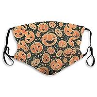 Happy Halloween Kids Girls Boys Women Men Reusable Washable Breathable Fashion Adjustable Dust Style1