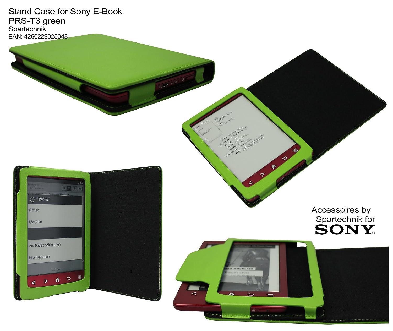 Spartechnik - Funda tipo libro para Sony PRS-T3, color verde ...