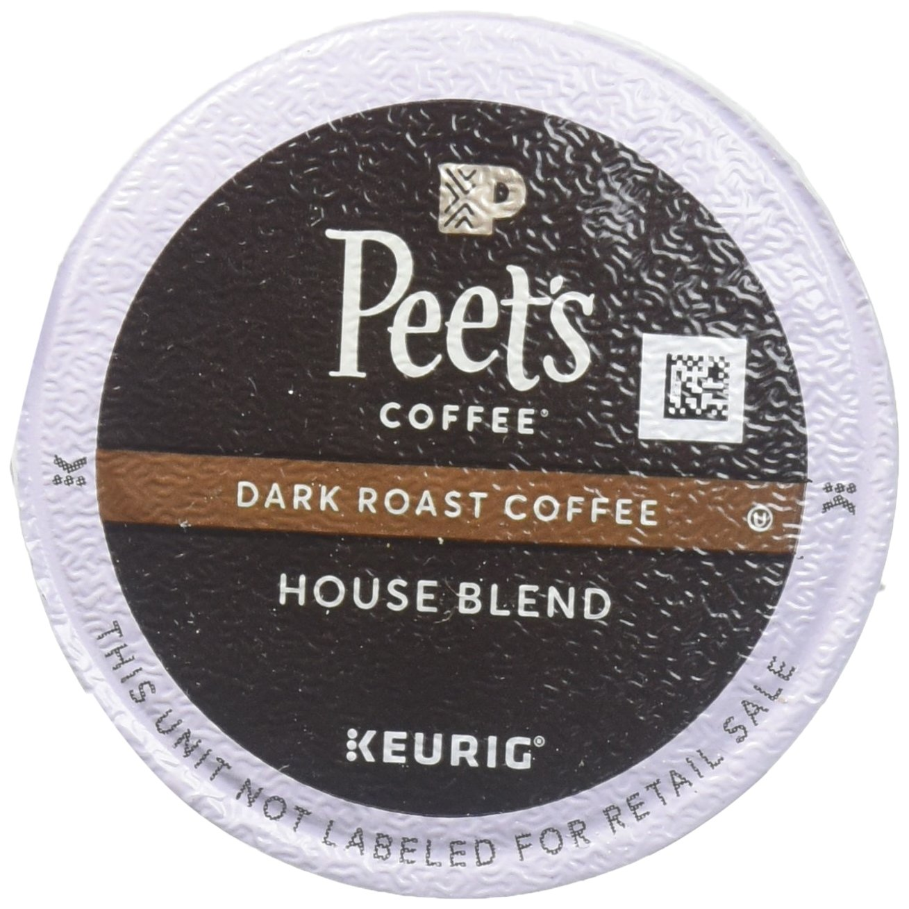 Peet's Coffee Single Cup House Blend Coffee, 16 Count