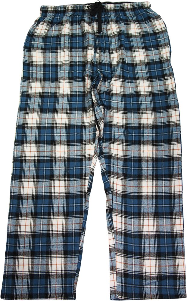 Hanes Men`s Flannel Pants with Comfort Flex® Waistband,02006/02006X,4XL